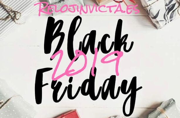 Black Friday 2019 reloj invicta